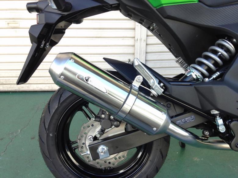 バイク用品 マフラーケイファクトリー K-FACTORY S-Line フルエキゾーストマフラー Z125PRO177KEAAALD3700 4582215609453取寄品 セール