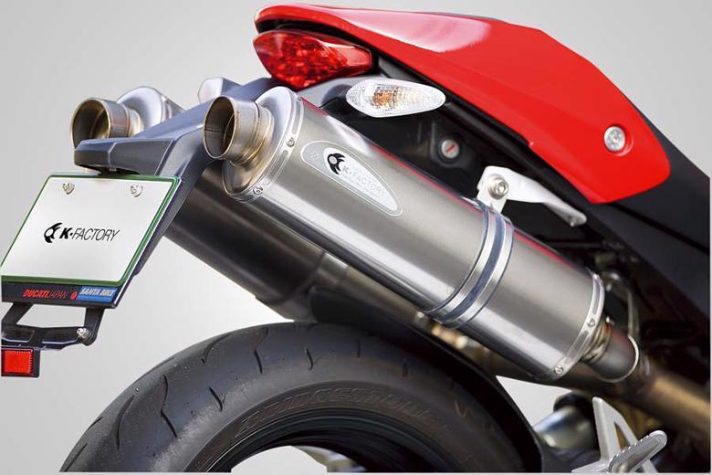 バイク用品 マフラーケイファクトリー K-FACTORY FRC S Oマフラー for Race use MONSTER 696508KBBAEBG0000 4548664277735取寄品 セール