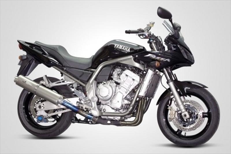 FZS1000 SBL K-FACTORY 4582215499788取寄品 PT セール マフラーケイファクトリー スリップオン バイク用品 3Dチタン FAZER307KABAEAK2121
