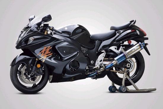 バイク用品 マフラーケイファクトリー K-FACTORY FRCチタン スリップオン SBL-B GSX1300R 09-252KKBAHBG0000 4582215513880取寄品 セール