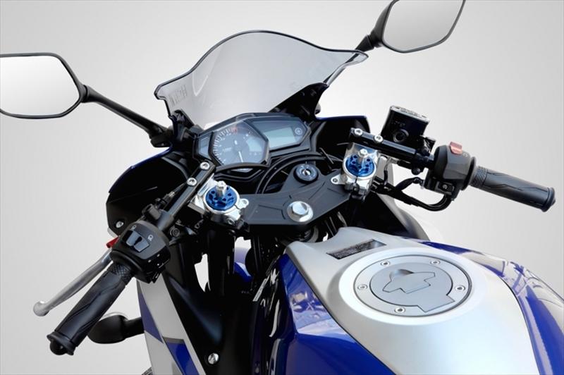 バイク用品 ハンドルケイファクトリー K-FACTORY ハンドルバーキット シルバー YZF-R25344HZDX017H 4582215605639取寄品 セール