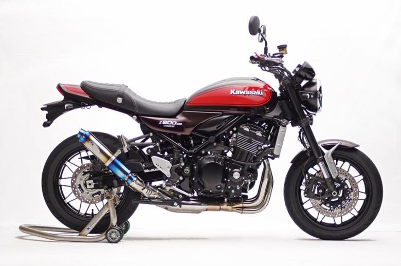 バイク用品 マフラーケイファクトリー K-FACTORY STPスリップオン MotoGPラウンドS JMCA Z900RS 18179KMZAEHG4180 4582215615263取寄品 セール