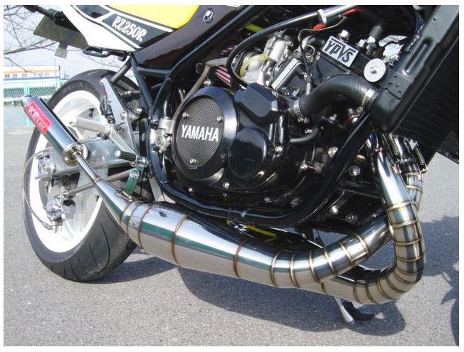バイク用品 マフラーケイツーテック K2TEC 鏡面ステンレス クロスチャンバータイプ2 RZ250Rrz250r-bsus 4548664951802取寄品 セール