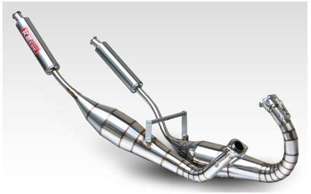 バイク用品 マフラーケイツーテック K2TEC 鏡面ステンレスストレートチャンバーTYPE2 NSR250R(MC28)mc28-bsus 4548664952052取寄品 セール