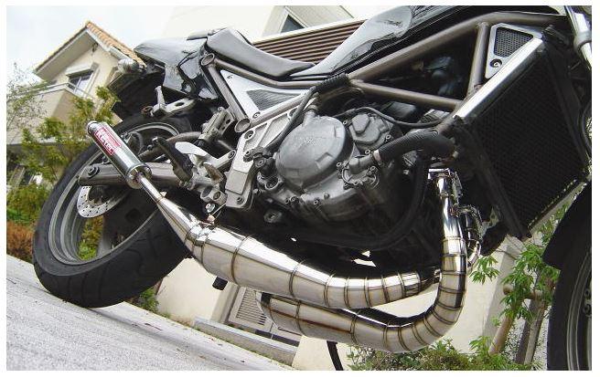 バイク用品 マフラーケイツーテック K2TEC 鏡面ステンレスクロスチャンバー TYPE-2 R1-Zr1-z-bsus 4548664996605取寄品 セール