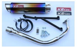 バイク用品 マフラーケイツーテック K2TEC GP-R STD チタン M1 アドレスV125S O2センサー対応9v125-gpsm-ti 4548916042319取寄品 セール