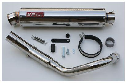 バイク用品 マフラーケイツーテック K2TEC ニトロスリップオンマフラー S6タイプ HORNET250(MC31)mc31-s6sus 4548916076550取寄品 セール