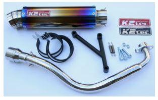 バイク用品 マフラーケイツーテック K2TEC GP-R STD 3ピースタイプ チタン シグナスX(台湾5期以降モデル)tsigu-gps3-ti 4548916077953取寄品 セール