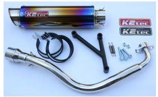 バイク用品 マフラーケイツーテック K2TEC GP-R STD M1タイプ チタン シグナスX(国内モデル)SE12J・SE44Jksigu-gpsm-ti 4548916078035取寄品 セール
