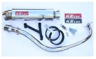 バイク用品 マフラーケイツーテック K2TEC GP-R STD 3ピースタイプ ステンレス PCX -11(JF28-10-)pcx-pgs3 4548916078103取寄品 セール