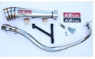 バイク用品 マフラーケイツーテック K2TEC GP-R メガホン PCX -11(JF28-10-)pcx-pgm 4548916078233取寄品 セール