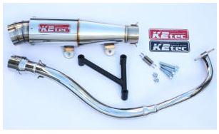 バイク用品 マフラーケイツーテック K2TEC GP-R テーパー 3ピースタイプ PCX -11(JF28-10-)pcx-pgt3 4548916078301取寄品 セール