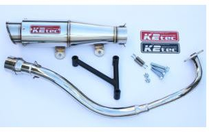 バイク用品 マフラーケイツーテック K2TEC GP-R テーパー M1タイプ PCX 12- (JF28-11-)12pcx-pgtm 4548916078387取寄品 セール