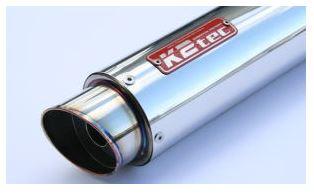 バイク用品 マフラーケイツーテック K2TEC GPスタイル STDサイレンサー M1 420mm φ100 60.5 バンド止めタイプgpsm1-42s6b5 4548916081233取寄品 セール