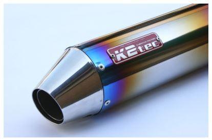 バイク用品 マフラーケイツーテック K2TEC GPスタイルSTDチタンサイレンサー Motard 420mm φ100 50.8 バンド止めタイプgpsmo-42t5b5 4548916081837取寄品 セール