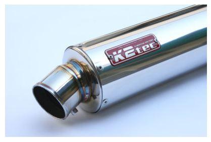 バイク用品 マフラーケイツーテック K2TEC GPスタイル STDサイレンサー S6 380mm φ86 50.8 バンド止めタイプgpss6-38s5b5 4548916082346取寄品 セール