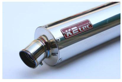 バイク用品 マフラーケイツーテック K2TEC GPスタイル STDチタンサイレンサー S5 520mm φ100 60.5 スプリングフックタイプgpss5-52t6h5 4548916082865取寄品 セール