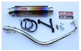 バイク用品 マフラーケイツーテック K2TEC GP-R STDチタン 3ピースタイプ 2012年以降(PCX、JF28-11-)12pcx-gps3-ti 4548916966363取寄品 セール