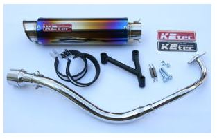 バイク用品 マフラーケイツーテック K2TEC GP-R STDチタン M1タイプ 2011年まで(PCX、JF28-10-)pcx-gpsm-ti 4548916966387取寄品 セール