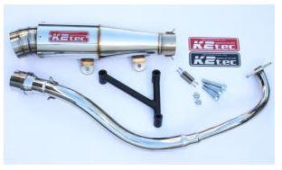 バイク用品 マフラーケイツーテック K2TEC GP-R テーパー 3ピースタイプ 2012年以降(PCX、JF28-11-)12pcx-gpt3 4548916966516取寄品 セール