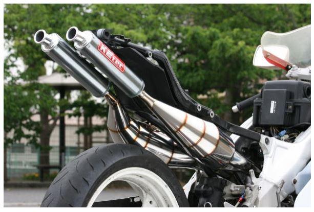バイク用品 マフラーケイツーテック K2TEC 鏡面ステンレスチャンバー TYPE-2 TZR250(3MA)3ma-bsus 4549950355748取寄品 セール