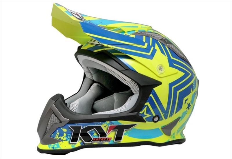 バイク用品 ヘルメットケイワイティ KYT ストライクイーグル ヘルメット パトリオット Blue Yellow #XSYJEA0015XS 4589753393011取寄品 スーパーセール