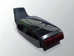バイク用品 外装MAGICAL RACING マジカルレーシング SPLシート・RED ブラック カーボン GSX750 1100S001-GSXS94-3RMC 4547567339908取寄品 セール