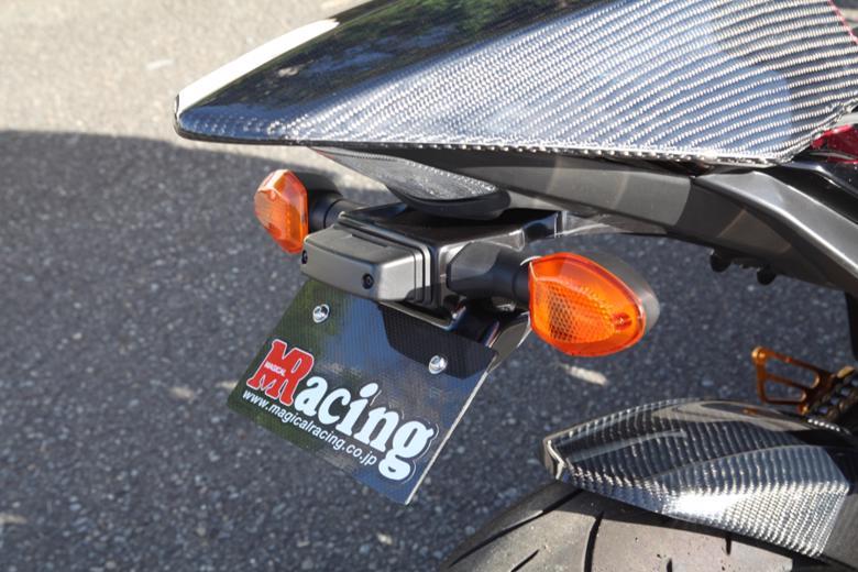 バイク用品 外装MAGICAL RACING マジカルレーシング フロントフェンダーFG一体平織カーボン GSR750 10-001-GSR713-400C 4548916207237取寄品 セール