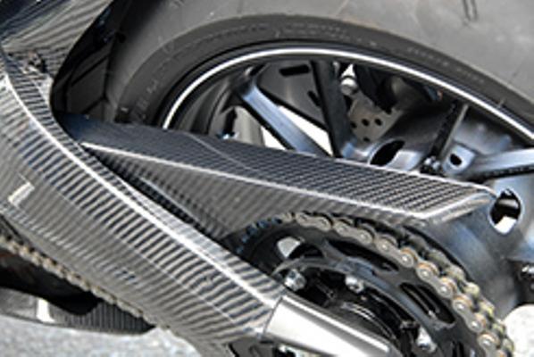 バイク用品 サスペンション ローダウンMAGICAL RACING マジカルレーシング チェーンガード 綾織カーボン MT-09 14-001-MT0914-630A 4548916296149取寄品 セール