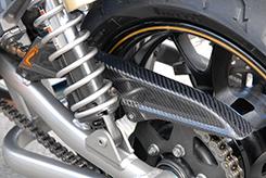 バイク用品 サスペンション ローダウンMAGICAL RACING マジカルレーシング チェーンガード 綾織りカーボン ZRX1200DAEG 09-001-ZRX129-630A 4548916575879取寄品 セール