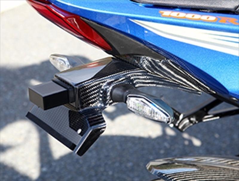 バイク用品 外装MAGICAL RACING マジカルレーシング フェンダーレスキット FRP黒 GSXR1000 17001-GSR117-9101 4549950620754取寄品 セール