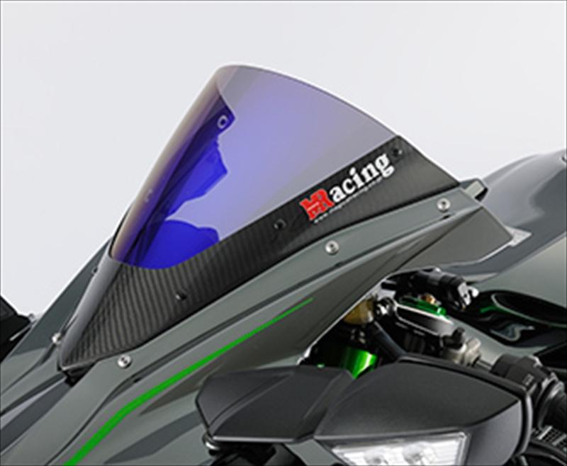 バイク用品 外装MAGICAL RACING マジカルレーシング カーボントリムスクリーン 平織 クリア Ninja H2 14-001-H22014-0400 4549950756859取寄品 セール