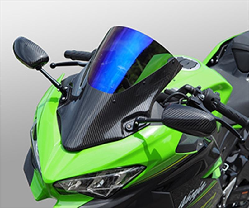 バイク用品 外装MAGICAL RACING マジカルレーシング バイザースクリーン 綾織 S.コート Ninja250 400 18-001-Ninj18-04AS 4549950957119取寄品 セール