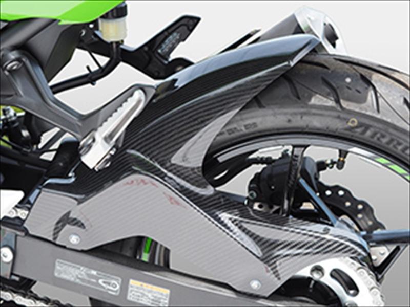 バイク用品 外装MAGICAL RACING マジカルレーシング リアフェンダー 綾織カーボン Ninja250 400 18001-Ninj18-500A 4550255020132取寄品 セール
