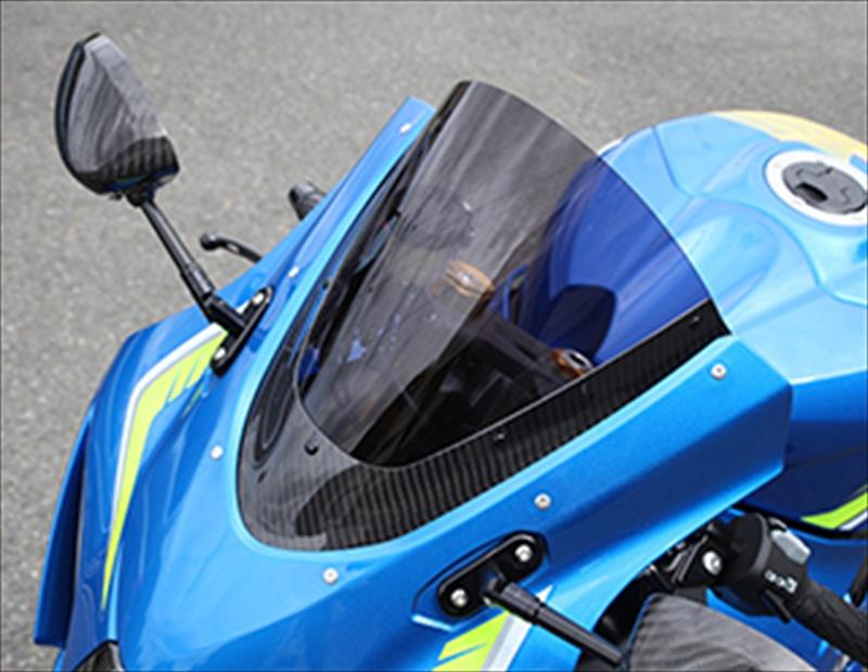 バイク用品 外装MAGICAL RACING マジカルレーシング トリムツキスクリーン 平織 スモーク GSXR1000 17001-GSR117-0401 4550255020453取寄品 セール