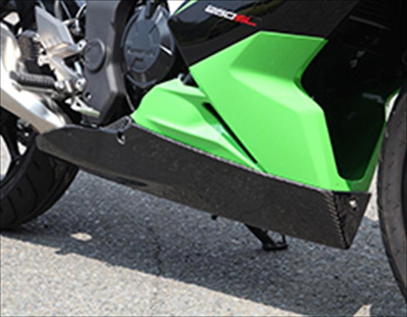 バイク用品 外装MAGICAL RACING マジカルレーシング アンダーカウル 黒ゲル Ninja250SL001-SL2515-1701 4550255112257取寄品 セール