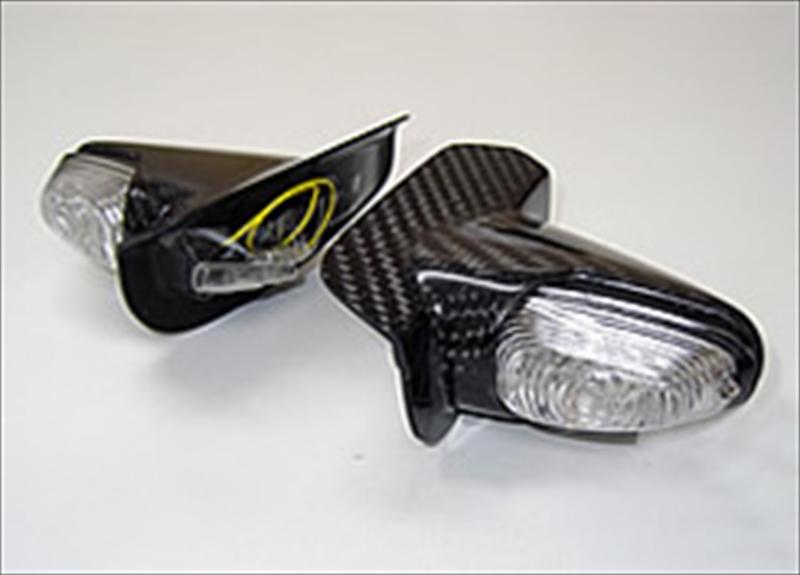 バイク用品 電装系MAGICAL RACING マジカルレーシング LEDウインカー カーボン GPZ900R 純正カウル001-GPZ990-870A 4550255233303取寄品 セール