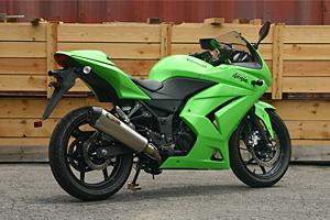 【ノジマ】【マフラー】NEW LOCK-ON 2-1/08-10 Ninja ニンジャ 250R【NMS626LC-CLK】【送料無料】