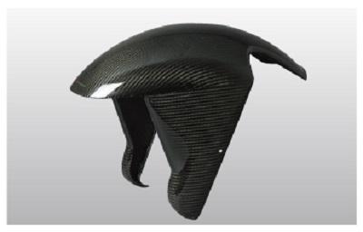 バイク用品 外装NEXRAY ネクスレイ フロントフェンダー GPタイプ スモークBLK DUCATI 749 99931890504 4538792499376取寄品 セール