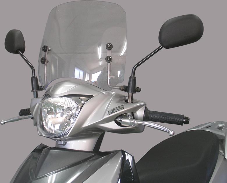 取寄品 防寒 防風 スズキ SALE 旭風防 シールド バイク用 ショートバイザー アドレス110 品質検査済 AD-38 EBJ-CE47A ADDRESS