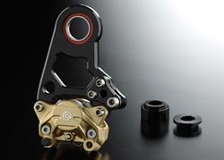 バイク用品 ブレーキ クラッチNITRO RACING ナイトロレーシング リヤキャリパーブラケットKIT ブラック XJR1200SM-037KBXJ12BG 4548664184613取寄品 セール