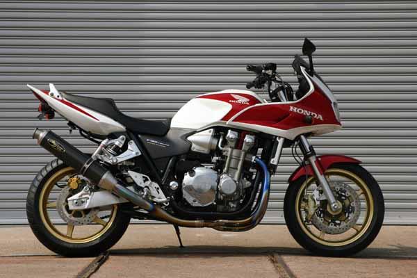 バイク用品 マフラーNOJIMA ノジマエンジニアリング ファサームプロチタン 4-1SC Ti VJ CB1300SF SB 03-07NMTX017VZ-J 4547424427878取寄品 セール
