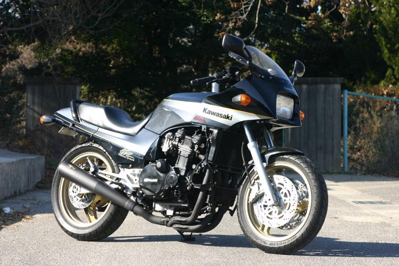 バイク用品 マフラーNOJIMA ノジマエンジニアリング メガホン フルEX 4-1SC ステンブラック GPZ900R ALLNMSX604MB 4548664486922取寄品 セール