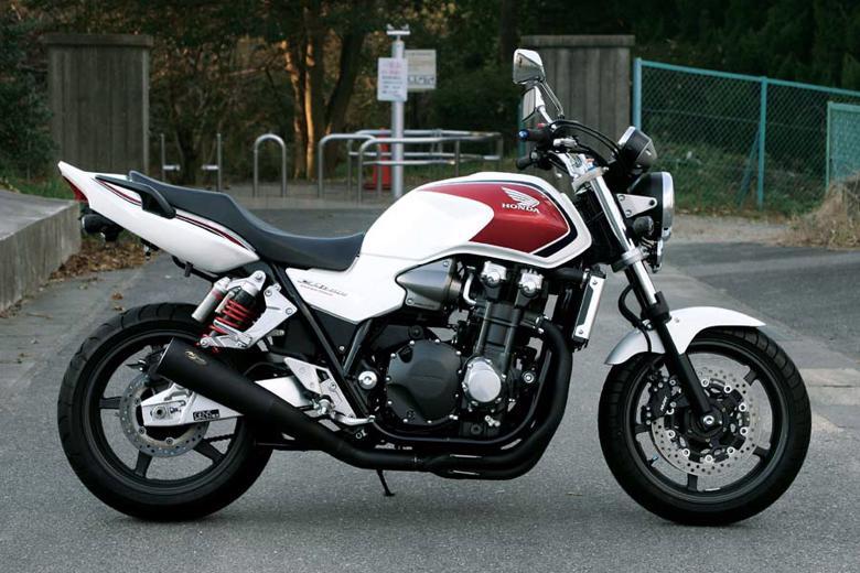 バイク用品 マフラーNOJIMA ノジマエンジニアリング メガホン フルEX 4-1SC ステンブラック CB1300SF SB 08-13NMSX027MB-CLK 4548664640614取寄品 セール