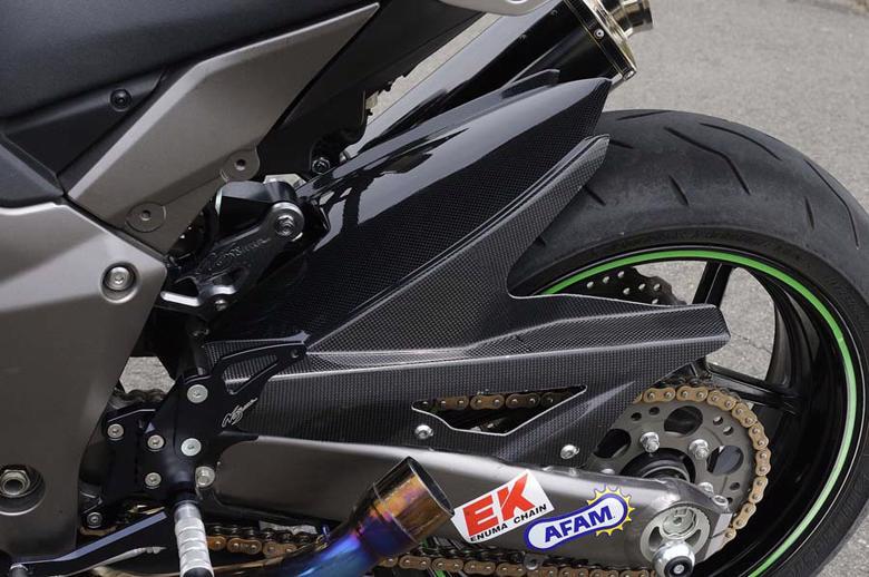 バイク用品 外装NOJIMA ノジマエンジニアリング リアフェンダー カーボン綾織 Ninja1000 11-19NCW634RF-CFA 4548664726103取寄品 セール