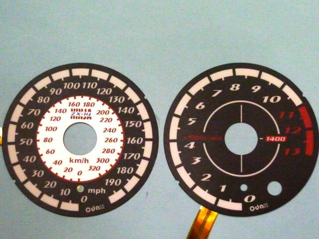 バイク用品 電装系オダックス ODAX ELメーターパネル ACtype 黒 ZX-14 06-11OXP-311030-2M 4548664191314取寄品 スーパーセール