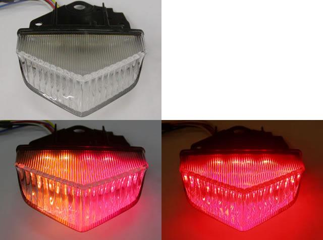 バイク用品 電装系オダックス ODAX LEDインテグレートテール クリア WR250R X 07-JST-353530-W 4548664192083取寄品