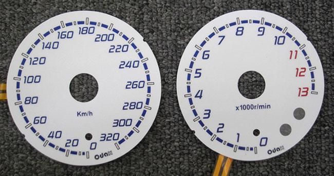 バイク用品 電装系オダックス ODAX ELメーターパネル H9type WHTパネル ZX-14R 12-14OXP-311047-H9-W 4548916686964取寄品 スーパーセール