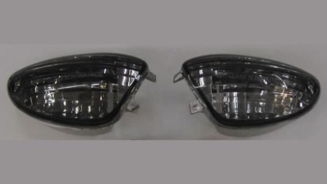 バイク用品 電装系オダックス ODAX ウィンカーレンズセット スモーク LED GSXR1000 05-16 GSXR600 750 06-16JSW-0050-L-S 4548916772650取寄品