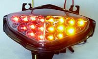 バイクパーツ モーターサイクル オートバイ バイク用品 電装系オダックス スモークJST-353021C-W-S マーケティング ODAX インテグレートテール B-KING 人気 おすすめ 4548916817580取寄品